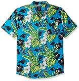 Carolina Panthers NFL Mens Floral Button Up Shirt - XL