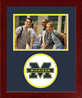 Campus Images NCAA Michigan Wolverines University Spirit Photo Frame Horizontal
