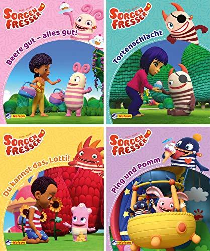Nelson Mini-Bücher: Sorgenfresser 1-4: 24 Mini-Bücher im Display