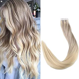 Full Shine Remy Tape in Hair Extensions 16