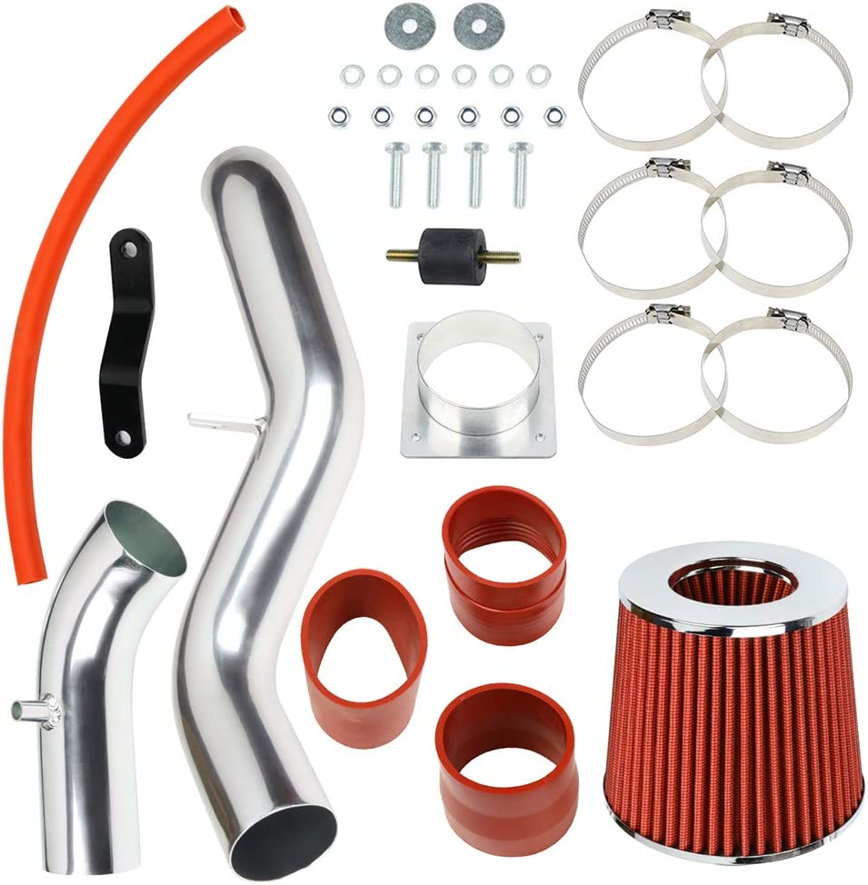 ZENITHIKE Engine Cold Max 47% OFF Air Filter Intake Replace Kit For System N Kansas City Mall