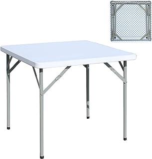 Amazon.fr : Table De Jardin Plastique Blanc