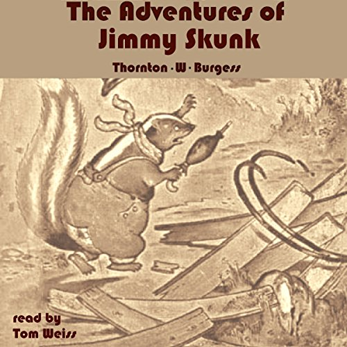 The Adventures of Jimmy Skunk audiobook cover art