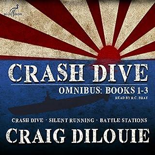 Crash Dive, Omnibus: Books 1-3 audiobook cover art