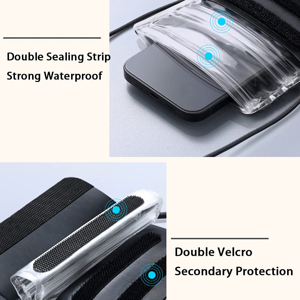 Bonnytt Cellphone Dry Bag Universal Waterproof Case,Waterproof Phone Pouch Compatible for iPhone 11 12 Pro MAX