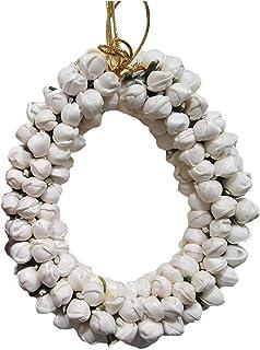 Generic Smark Fashion Shopperrz Jasmine Flower Hair Accessories, White
