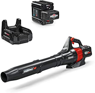 Snapper HD 48V MAX Electric Cordless 450 CFM Leaf Blower Kit with 2.0 Battery and Charger, 1687968, BL48K