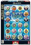 Puzzles Educa - Escudos Liga de Fútbol Profesional 2014-15, 500 Piezas (16268)