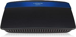 راوتر Linksys N750 واي فاي ثنائي النطاق + مزود بمداخل جيجا بايت ويو إس بي، يمكن تطبيق الواي فاي الذكي التحكم في الشبكة من ...