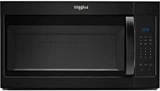 Whirlpool WMH31017HB 1.7 Cu. Ft. Black Over-the-Range Microwave