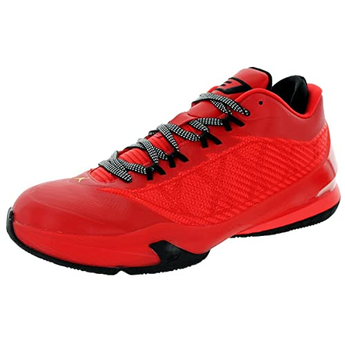 679f65d377d Nike Mens Jordan CP3.VII Challenge Red/Tour Yellow-Black Synthetic  Basketball Shoes