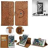 K-S-Trade® Schutz Hülle Für Marshall London Handyhülle Kork Handy Tasche Korkhülle Handytasche Wallet Case Walletcase Schutzhülle Flip Cover Smartphone
