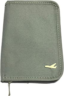 SAMIKIVA Multi-purpose Travel Passport Wallet Document Organizer Holder