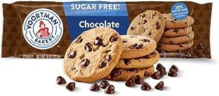 Voortman Bakery, Sugar Free Chocolate Chip Cookies, Crispy, Crunchy Cookies, 8oz, Pack of 4