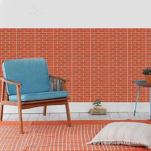 Ylight Pegatinas de Azulejos tridimensionales 3D Falso diseño de Azulejos de cerámica Moderna Sencillez Pegatinas de azulejo diseño de mármol Usado para Sala de Estar Dormitorio Dormitorio baño