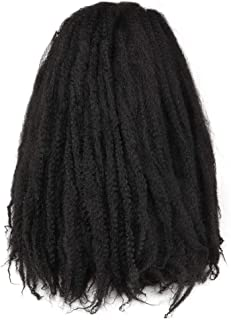 Toyo Tress Marley Hair For Twists 18 Inch 6packs Long Afro Marley Braid Hair Synthetic Fiber Marley Braiding Hair Extensions (18