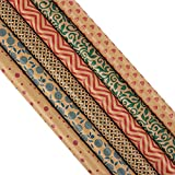 Juvale Kraft Gift Wrapping Paper for All Occasions (30 x 120 Inches, 6-Rolls)