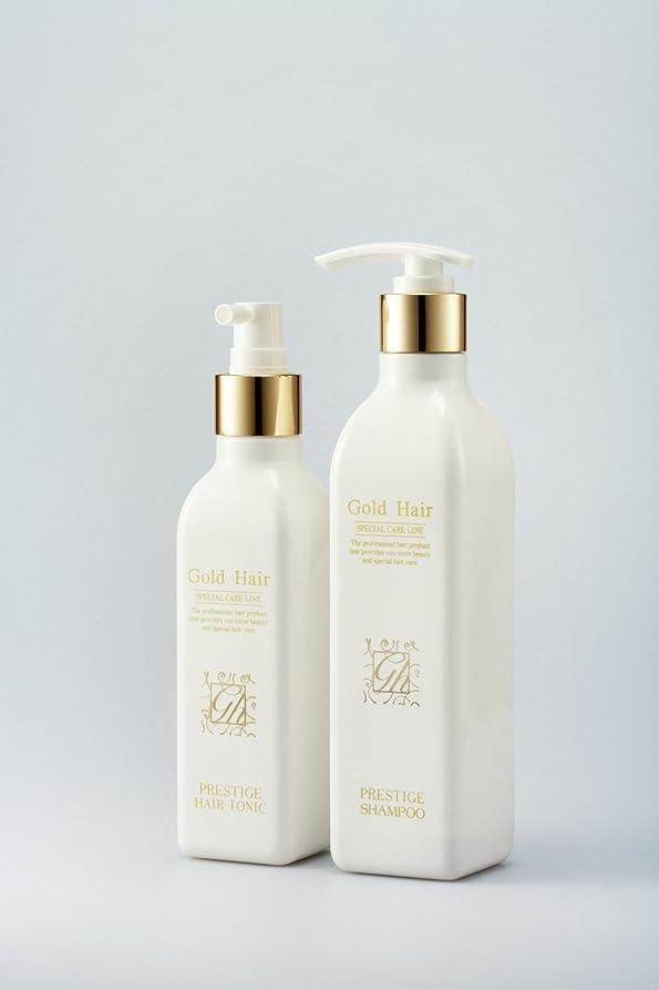 セメント部門プレゼントゴールドヘア育毛シャンプー&トニック 漢方シャンプー /Herbal Hair Loss Fast Regrowth Gold Hair Loss Shampoox1ea & Gold Hair Oriental Herbal Hair TonicX1ea[海外直送品] [並行輸入品]