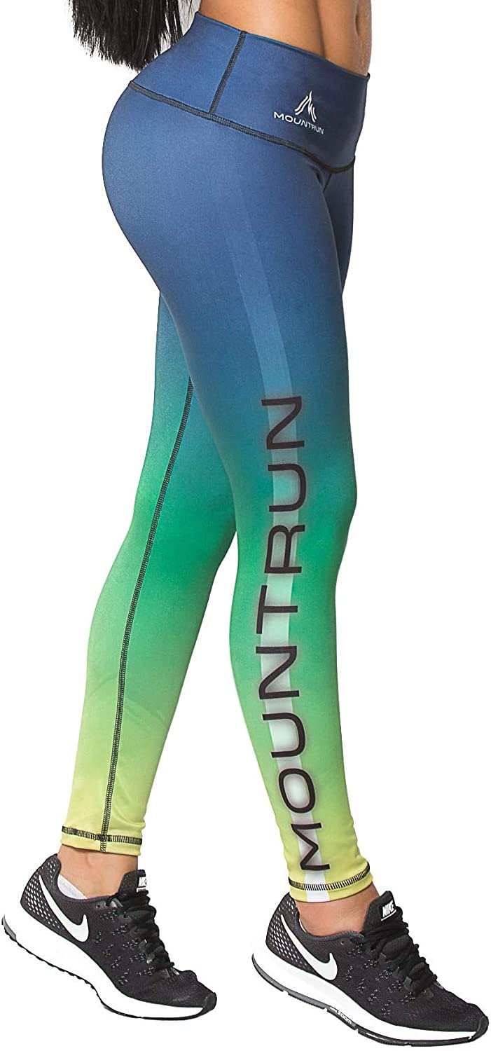 Active Colombian Women High Waisted High Compression Workout Shaping Leggings (Lynx)