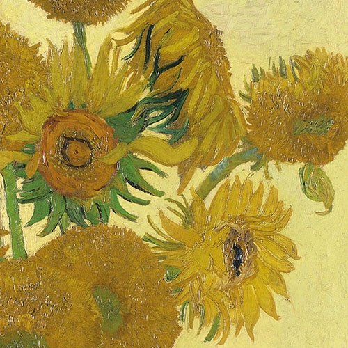Amb Tovaglioli di Carta Lunch/Party/Festa Circa 33 x 33 cm – Van Gogh Sunflower – The National Gallery – Ideale Come Regalo e Decorazione da Tavolo.
