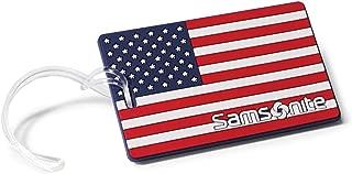 Samsonite Designer Luggage Id Tags, American Flag