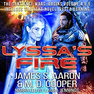 Lyssa's Fire: Sentience Wars: Origins Volume 4 & 5 cover art