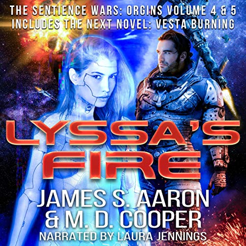 Lyssa's Fire: Sentience Wars: Origins Volume 4 & 5 Titelbild
