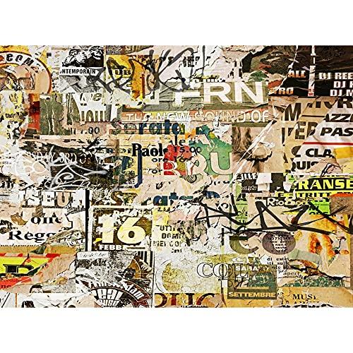Fondo de fotografía de Graffiti Fondo de fotografía fotográfica de Vinilo Accesorios de fotografía de Retrato de Estudio fotográfico A4 9x6ft / 2,7x1,8 m