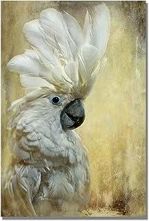 Cockatoo by Lois Bryan, 16x24-Inch Canvas Wall Art