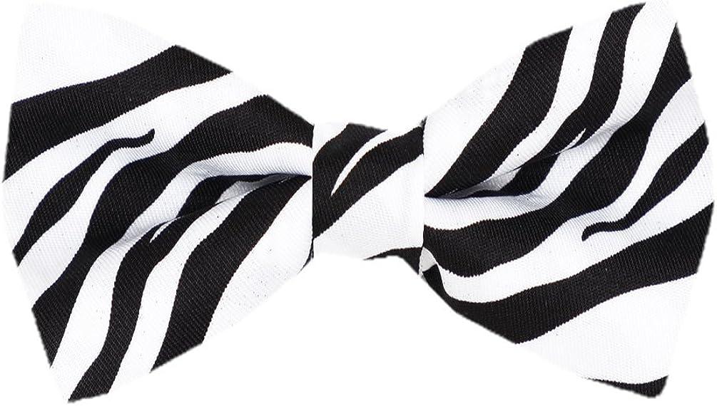 Men's Pre Tied Animal Print Bow Ties