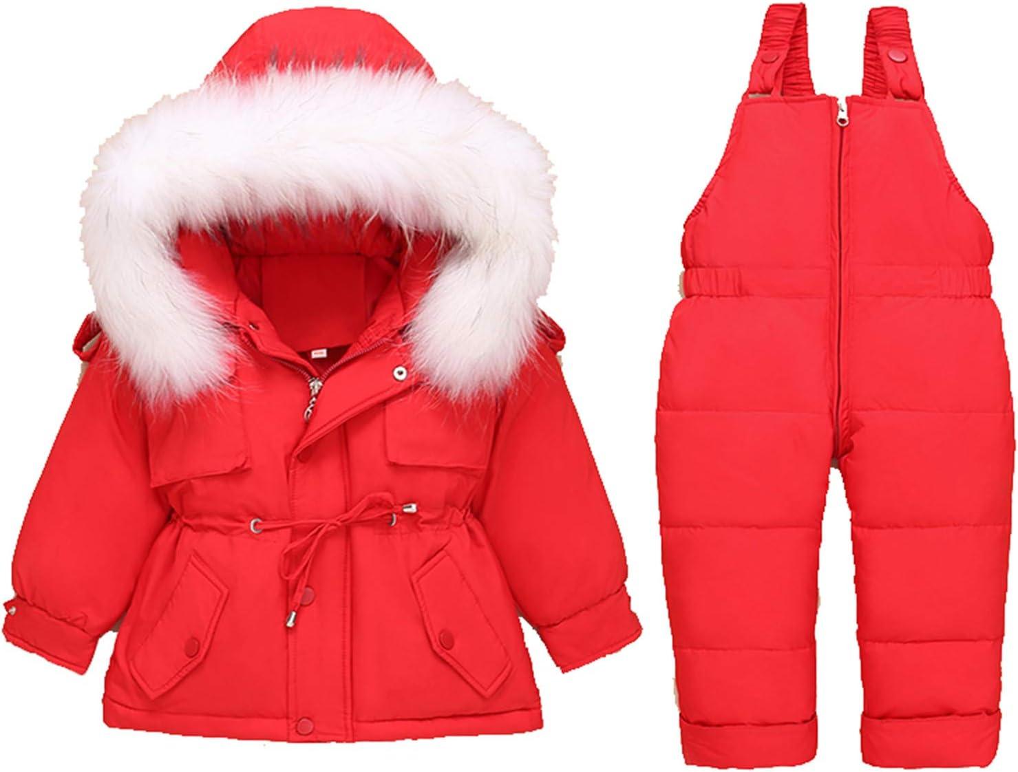 Baby Unisex Winter Puffer Snowsuit Down Bib wholesale Ski and Jacket Snow Max 70% OFF