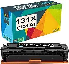 Do it wiser 131X 131A Cartuchos de Tóner Compatibles con HP Color Laserjet Laserjet Pro 200 Color M251 M276 M251n M251nw MFP M276n M276nw CF210X (Negro)