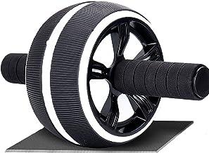 LYQY, ab roller wiel, met knie pad, ab roller wiel voor abdominale oefening, beenoefeningen, ab wheel roller voor thuis gy...