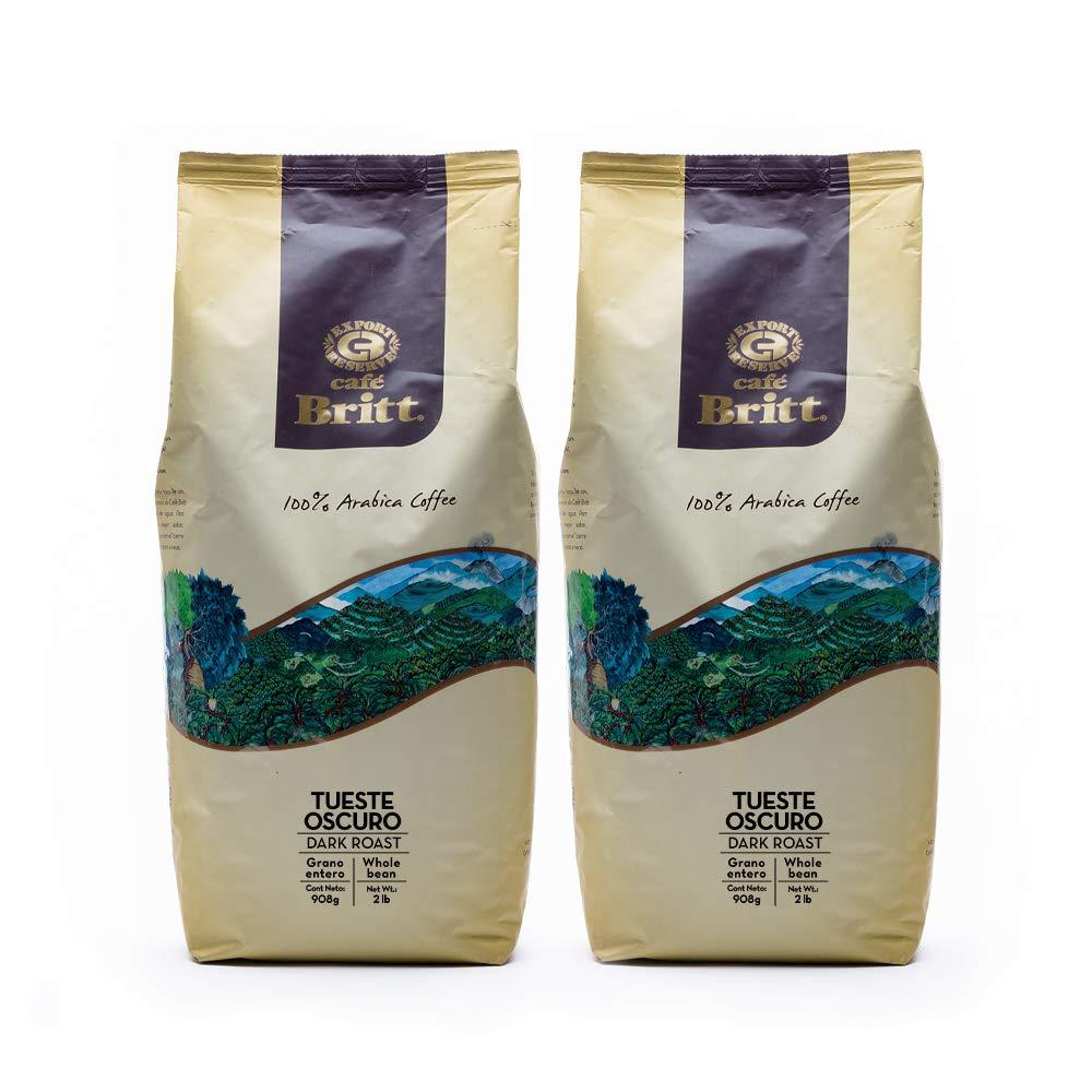 Overseas parallel import regular item Café 40% OFF Cheap Sale Britt® - Costa Rican Dark Each 2 2-Pack Lbs Roast