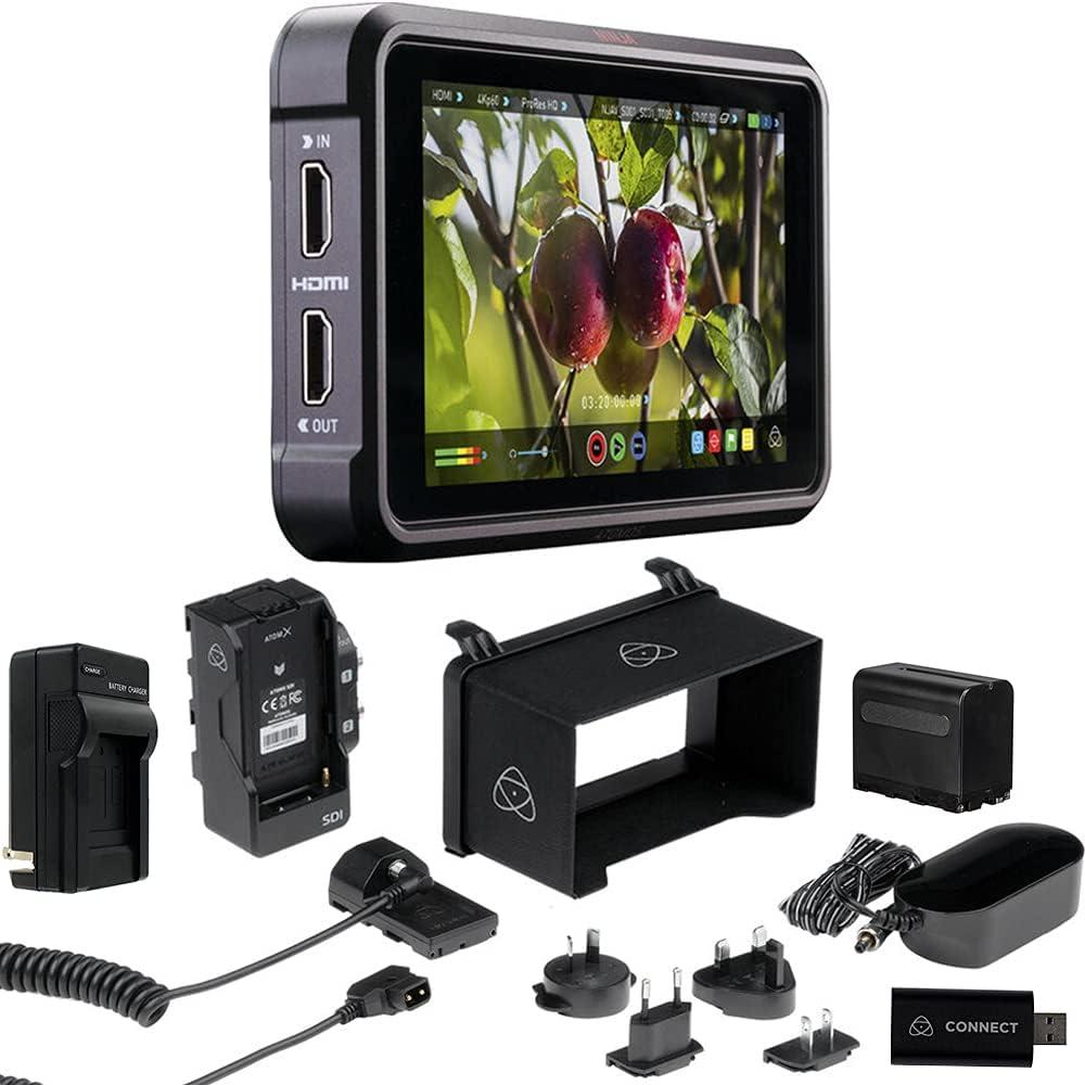 Atomos Ninja V Pro Kit 5-Inch 4kp60 and SDI High material National products in HDMI Ou 1000-nit