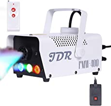 JDR Fog Machine with Controllable lights, Disinfection LED Smoke Machine(Red,Green,Blue)..