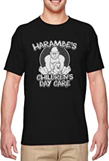 Harambe's Children's Day Care - Funny Meme Men's T-Shirt