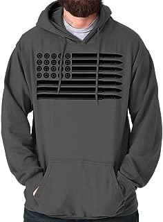 bullet flag hoodie