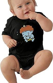 ボディースーツ ベビー 半袖 ロンパース カットソー 無地 ソフト ベーシック 肌触り 幼児服 カバーオール 肌着 通気 快適 贈り物 満月お祝い 節分 鬼は外 福は内 豆まき