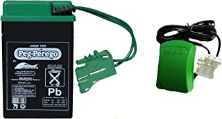 Peg Perego Green Battery and Charger Combo Pack