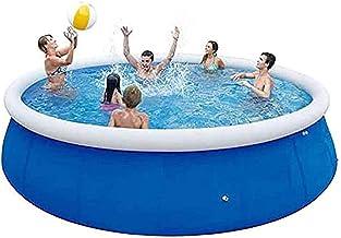 Piscina Hinchable Jacuzzi Piscina Inflable sobre El Suelo |Piscina PVC Pool para Niños Y Adultos, Jardín, Patio Trasero, Fiesta De Agua Al Aire Libre 300 * 76 Cm