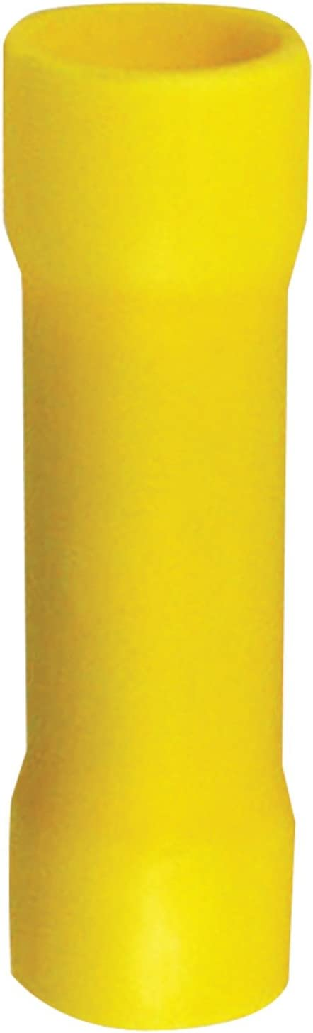 Install Bay YVBC4 Vinyl Connector Yellow 4 Gauge 25-Bag
