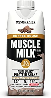 Best Muscle Milk Coffee House Protein Shake, Mocha Latte, 11 Fl Oz, 12 Pack Review