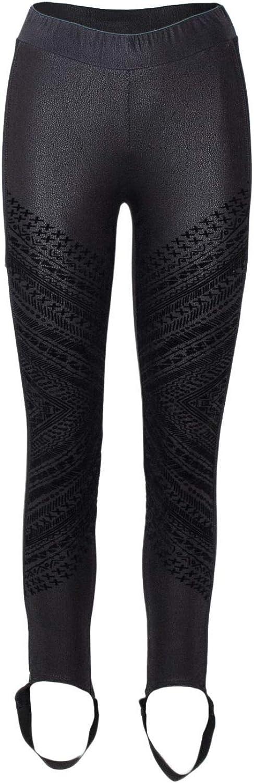Desigual Women's 18WWPK16BLACK Black Polyester Leggings