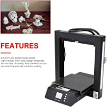 Smart Desktop Jet 3D Printer JGAURORA A5S Prusa I3 Home School DIY Use Full Metal Frame Large Print Volume 305X305X320mm Color Touch Screen Resume Print Filament Runs Out Detection