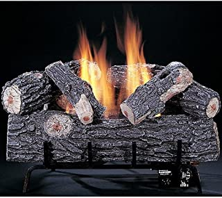 Rasmussen 18 Inch Chillbuster Gas Log Set With Vent Free Natural Gas The Original Chillbuster Burner - Variable Flame Remote