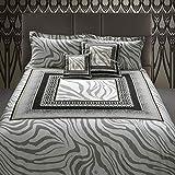Roberto Cavalli - Juego de funda nórdica para cama de matrimonio, 250 x 200 cm, diseño de cebraga