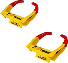 Trimax TCL65 Pair of Universal Wheel Chock Locks