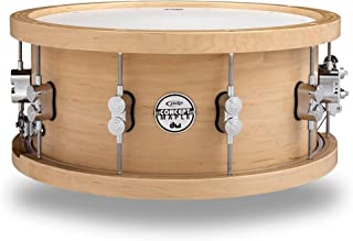 PDP 20-Ply Maple Snare with Wood Hoops and Chrome Hardware 14 x 5.5 in.