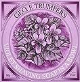 Geo F.Trumper Violet Hard Shaving Soap Wooden Bowl 80gr